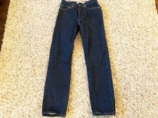 Levis 505 Regular Fit Dark Blue Jeans Men's Size W31 L34 New Without Tags