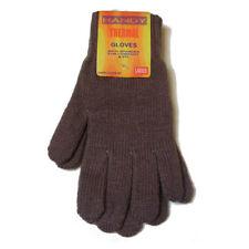 Gants et moufles grises en acrylique poignet pour femme