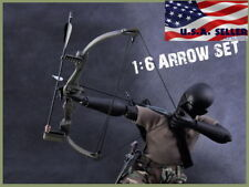 """1/6 Arrow Knife Set For First Blood Rambo For 12"""" Hot Toys PHICEN Figure USA"""