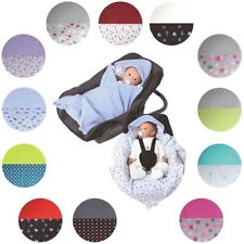 Neu Jollein Kuschelsäckchen für Babyschalen grau 7430250 grau rosa grün