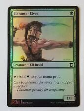 Llanowar Elves FOIL Eternal Masters Magic MTG NM