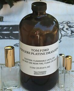 Tom Ford FOUGERE PLATINE EDP B58 (May 2018) - 10ml, 30ml glass atomizers