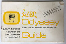 Arp Odyssey Classic Synthesizer Original Guide Book Manual from November 1972