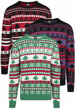 URBAN CLASSICS Maglia Maglione Pullover uomo Natale Over sizes