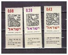 s30082) ISRAEL MNH** 1962 New year 3v
