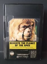 Beneath The Planet of the Apes (BETAMAX) Magnetic Video  Ex-Rental(NOT VHS) RARE