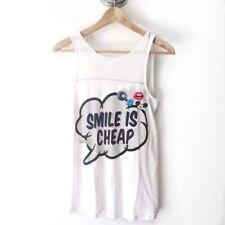 T-shirt, maglie e camicie da donna lunghezza lunghezza ai fianchi in misto cotone taglia S