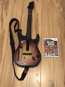 Guitar Hero Guitar And Guitar Hero Aerosmith Game Bundle Nintendo Wii
