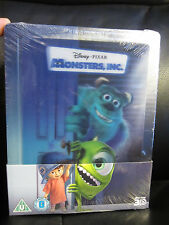 Monsters Inc. Lenticular 3D Blu-Ray Steelbook [UK] Region Free Disney Classic