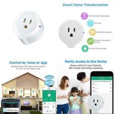 Etekcity WiFi Smart Plug, 10 Amp Energy Monitoring Wireless Mini Outlet With Tim