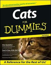 Cats for Dummies by Gina Spadafori and Paul D. Pion (2000, Paperback, Revised)