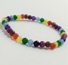 Bracelets Beads Crystals Reiki Stretch