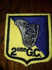 Insigne militaire 2 GC groupe chasseurs à pieds ARMEE WW2 patch badge BCP amx 10