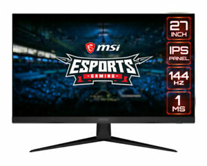 "MSI Optix G271 27"" eSports IPS LED Gaming Monitor (Small Vertical Line)Black R"