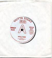 SHIRLEY ELLIS- SOUL TIME/ LYNNE RANDELL- STRANGER IN MY ARMS  UK OUTTASIGHT DEMO