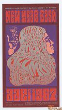 Bill Graham 37 Handbill Grateful Dead Jefferson Airplane 1966 Dec 30