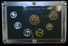 Nepal Proof Set 1973 Km#Ps6 Official 7 Coin Set 8891 Minted