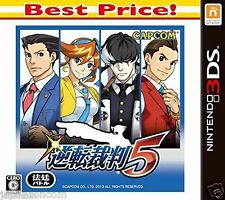 Gyakuten saiban 5 Best Price! CAPCOM NINTENDO 3DS JAPANESE  JAPANZON COM