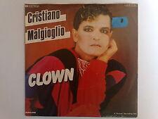 CRISTIANO MALGIOGLIO - CLOWN - RARO 45 GIRI GERMANIA