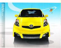2010 Toyota Yaris Original Sales Brochure Catalog