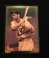 BOBBY DOERR 1992 ACTION PACKED AUTOGRAPHED SIGNED AUTO BASEBALL CARD 8 RED SOX