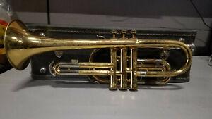 Vintage Buescher Aristocrat Trumpet, Untested