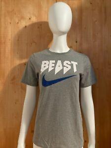 NIKE BEAST DRI FIT Graphic Print Unisex T-Shirt Tee Shirt XL Xtra Extra Large