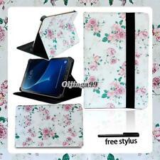 """Cuero Soporte Funda Cubierta para Samsung Galaxy Tab 3/4/A6 7"""" 10.1""""/E A 9.6""""/S2"""