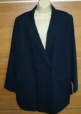 TAILORED navy jacket size 22