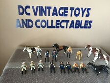 Vintage 1980 Gabriel The Lone Ranger 18 Figures Collection Silver Butch WOW!