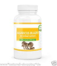 Vegetariano Extracto Agaricus Balzei 20:1- 240 Cápsulas cada 450 mg