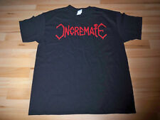 "INCREMATE ""Logo"" T-Shirt Shirt Monstrosity Death Entombed Morgoth"