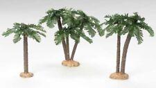 "Roman, Inc. Fontanini ""PALM TREE SET""  ~ 3 Piece Set ~ Great Trees"