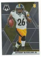 ANTHONY MCFARLAND JR. RC 2020 Panini Mosaic #237 Rookie Steelers  Base ID:3311
