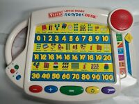 Vtech Little Smart Number Desk Talking Electronic Learning Toy-6 Activities!