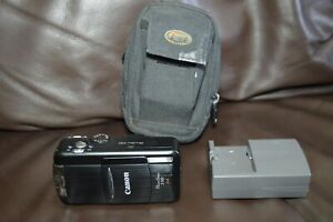 Canon PowerShot S50 5.0MP Digital Camera Black with Charger No Battery