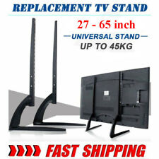 "Table Top Tv Stand Base Mount for 22""-65"" 32 37 45 Height Adjustable Load 99Lbs"