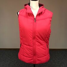 Bench Womens Black Trickster II Gillet Water Repellent Bubble Vest w Hood NWT