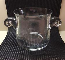 """Lenox / """"Lenox Crystal Gallery Collection"""" /Circa 1978~1986/ Crystal Ice Bucket"""