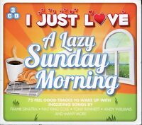 I JUST LOVE A LAZY SUNDAY MORNING 3 CD BOX SET - NAT KING COLE & MORE