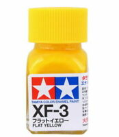 O TAMIYA COLOR FLAT ENAMEL PAINT XF-3 FLAT YELLOW Model Kit Paint Hobby New
