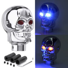 Universal Car Truck LED Skull Manual Gear Stick Cover Shift Knob Lever Shifter
