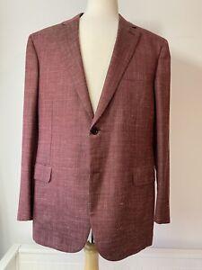 Brioni Jacket/Blazer Ravello Men's Wool/Silk/Linen 46R 2XL BNWT RRP £3595