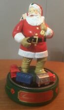 Ertl Coca Cola Santa Claus Die Cast Metal Mechanical Bank 8""