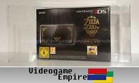 1x Schutzhülle für Nintendo 3DS Zelda 25th Limited OVP / Box Protector 0,4mm PET