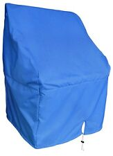 """Navy Blue Waterproof Boat Center Console Cover Medium 44""""H*40""""W*30""""D"""