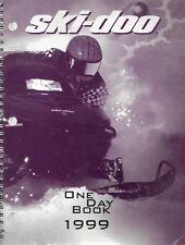 Ski-Doo Snowmobile 1999 One Day School Book - Technician Service Manual