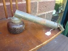 Vtg Push Pull Sprayer Atomizer Garden Bug Insect Chemical Amber Glass Antique