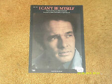 Merle Haggard sheet music I Can't Be Myself 1975 3 pages (NM shape)