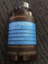 Amazon Elements Elderberry Complex 60 Berry Flavored Lozenges